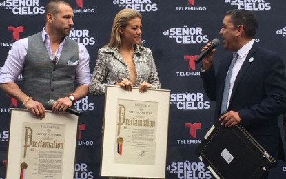 Elected Latino Governemnt Officials Designate March 24 2016 as the Official Rafael Amaya and Fernanda Castillo Day in New York