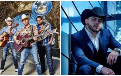 Gerardo Ortiz y Ariel Camacho y Los Plebes del Rancho Ganadores Durante la Entrega de Premios Billboard de la Música Latina