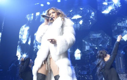 Global Star Jennifer Lopez Celebrates with NBCU at Private Concert at the Manhattan's Center Hammerstein Ballroom