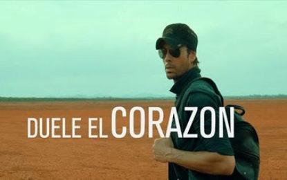 """ENRIQUE IGLESIAS ESTRENA EL VIDEO MUSICAL DEL TEMA #1 """"DUELE EL CORAZÓN"""" FT. WISIN"""