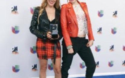 """HA*ASH WINS CANCION CORTA-VENAS in Premios Juventud for their Hit Song """"PERDÓN PERDÓN"""""""