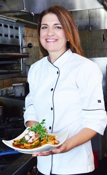 Chef Elizabeth Suvedi   Blue Water Grill 5180 Northland Dr NE, Grand Rapids, MI