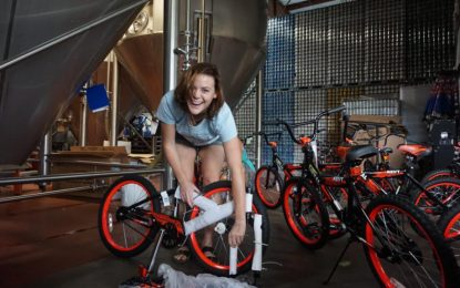 Perrin Brewing Builds Bikes for Kids