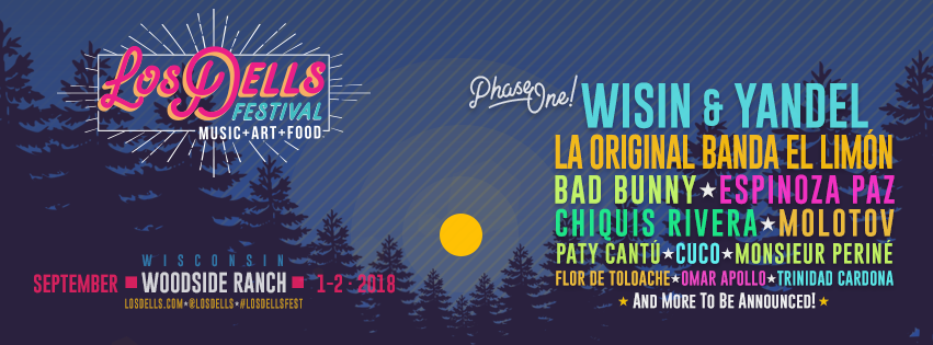 The First & Biggest Multi-Genre Latin Music & Arts Festival in the Midwest Announces the First Wave of Artists for 2018