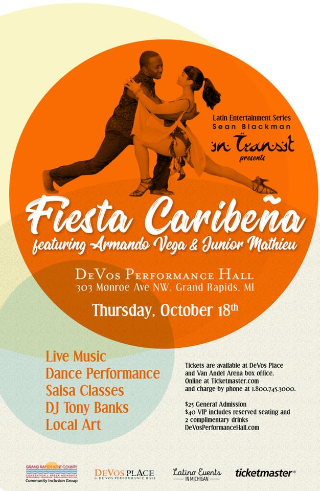 fiesta caribeña DeVos Performance Hall