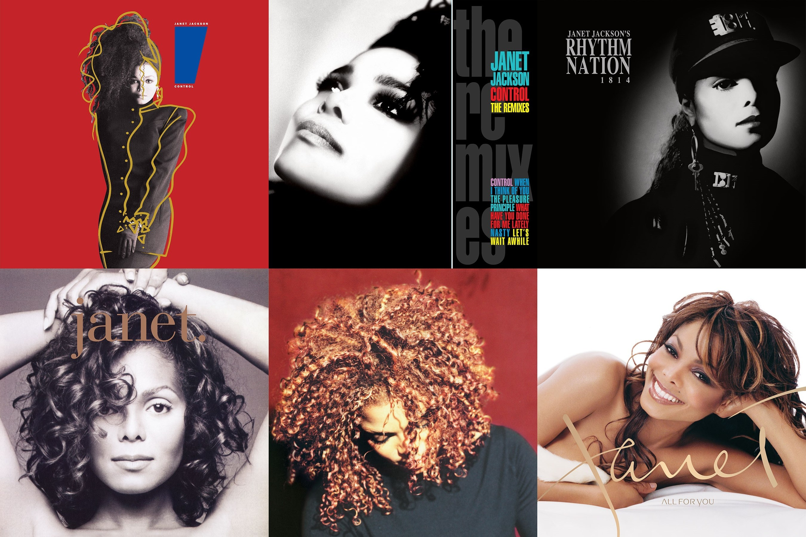 Janet Jackson Takes Full 'Control' Of Her Vinyl Legacy