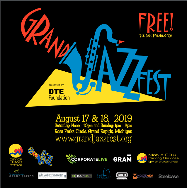 GRandJazzFest presented by DTE Energy Foundation – August 17 & 18