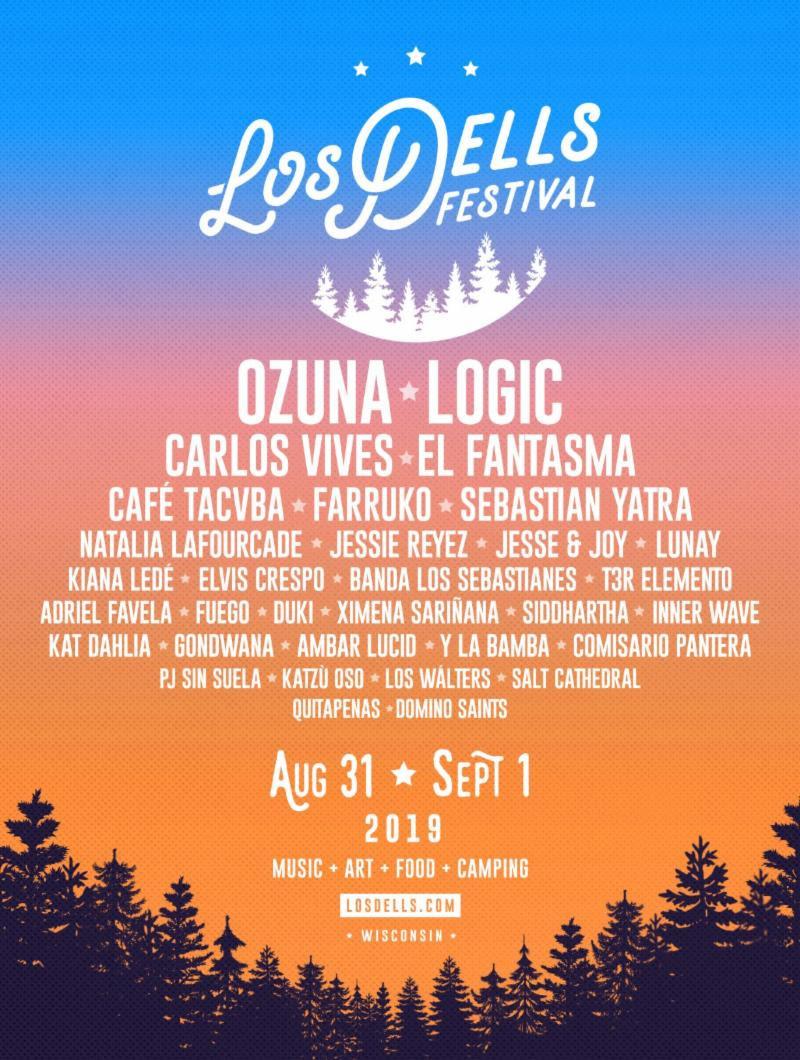 Los Dells Festival Announces 2019 Lineup