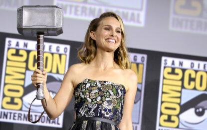 Natalie Portman Returns for 'Thor: Love and Thunder' as Female Thor