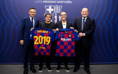 Strategic Alliance Between FC BARCELONA And SONY MUSIC For The Creation Of Engaging Entertainment Experiences
