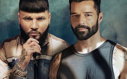 "RICKY MARTIN estrena remix de su éxito ""TIBURONES"" junto a FARRUKO"