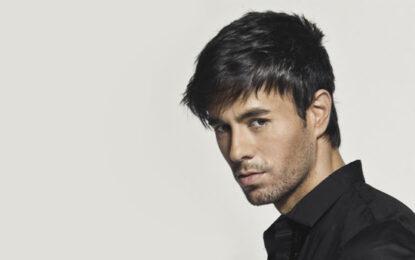 ENRIQUE IGLESIAS será reconocido como El Artista Latino Más Grande De La Historia