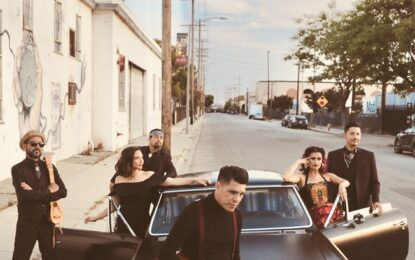 Banda Latinx LAS CAFETERAS Interpreta versión 'spanglish' de'Georgia on My Mind'