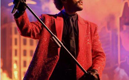 Givenchy viste a The Weeknd para el 55 ° espectáculo de medio tiempo del Super Bowl
