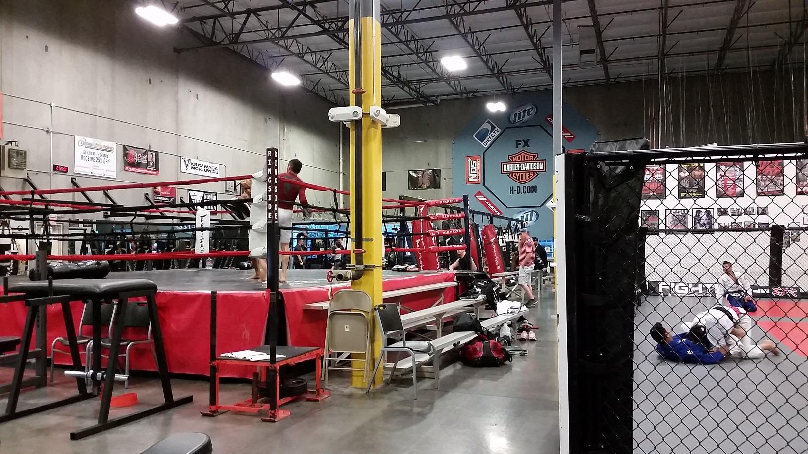 3 - Syndicate MMA , Las Vegas