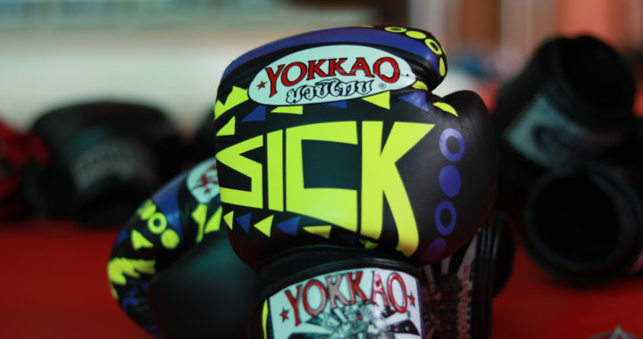 IMG 1886 720x380 - Yokkao SICK 12oz boxing glove Review
