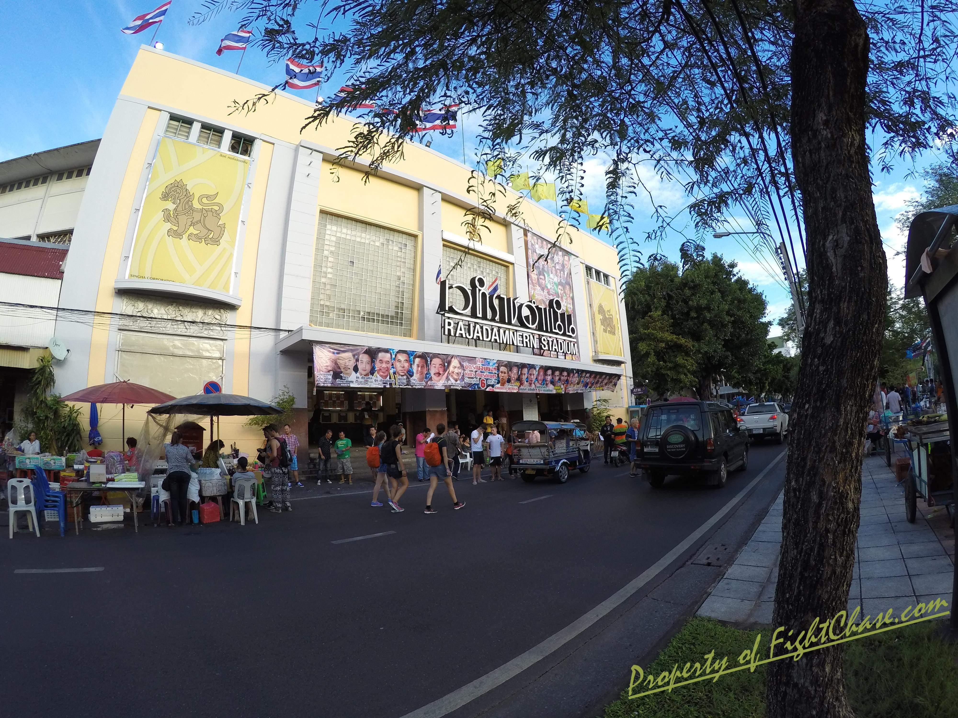 GOPR1120 - Rajadamnern Muay Thai Stadium , Bangkok Thailand