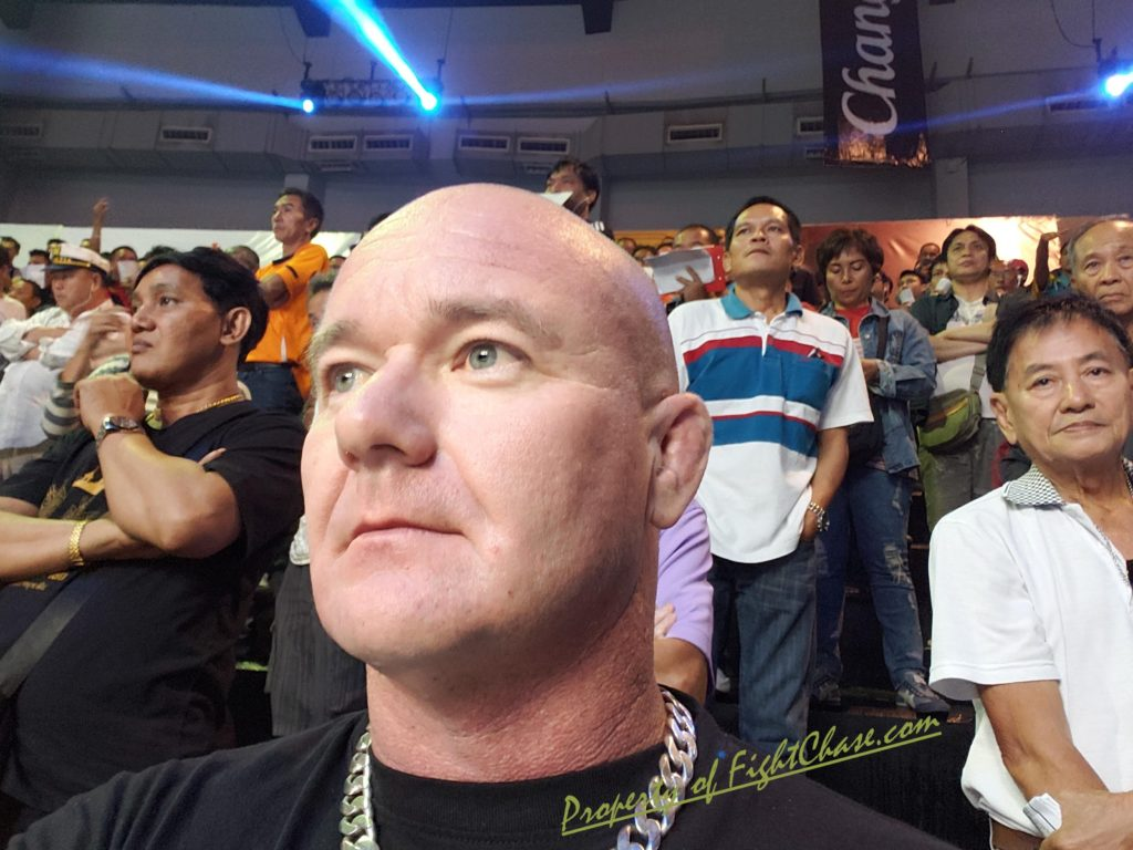 The legendary Lumpinee Stadium Bangkok Thailand