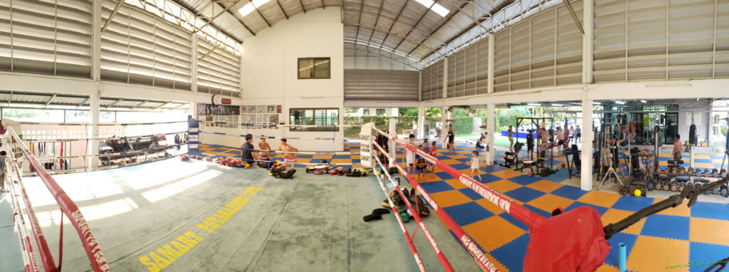 Samart Payakaroon Gym