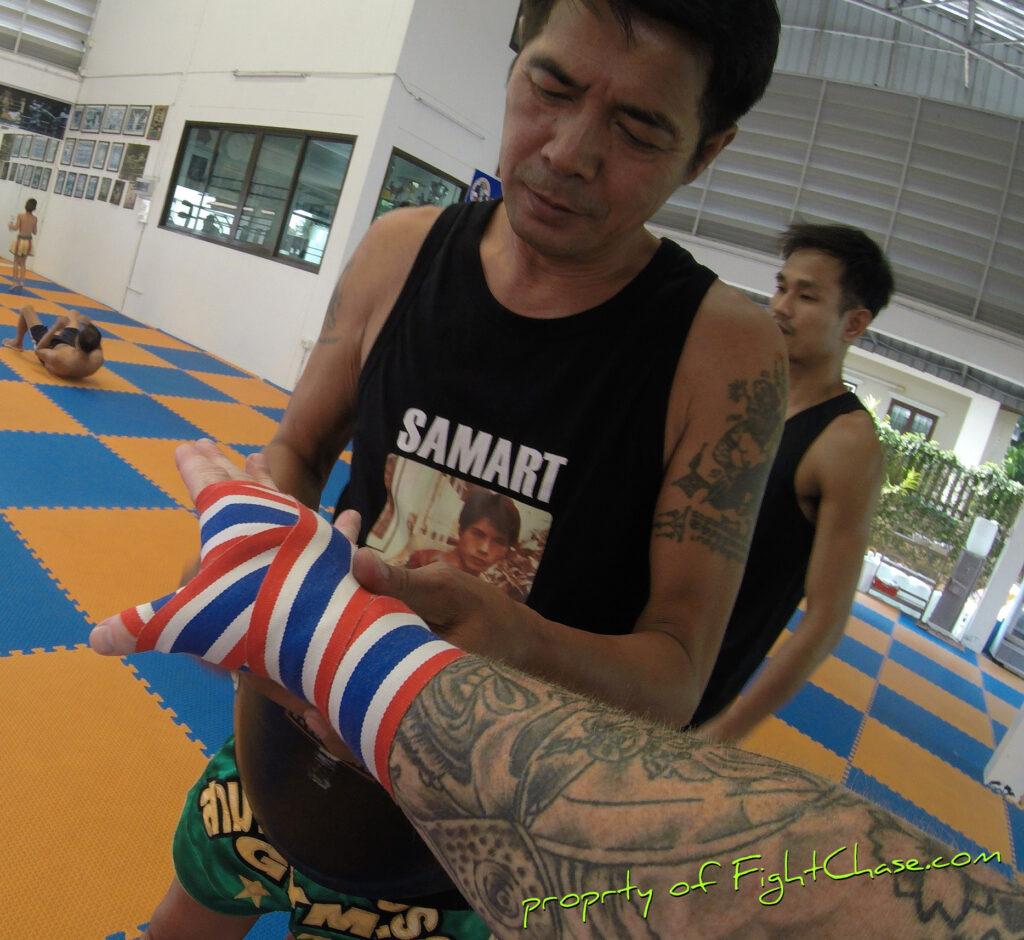085 1024x940 - Samart Payakaroon Gym, Bangkok Thailand