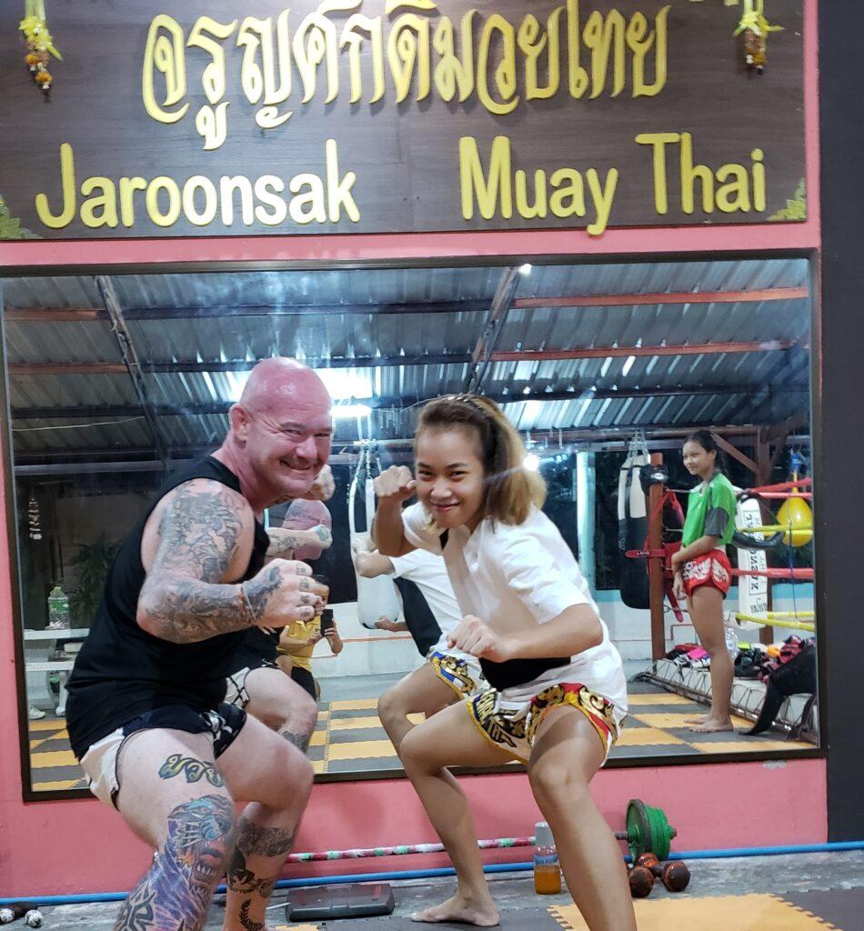 Nat (Wondergirl Fairtex) Jaroonsak Muay Thai Gym