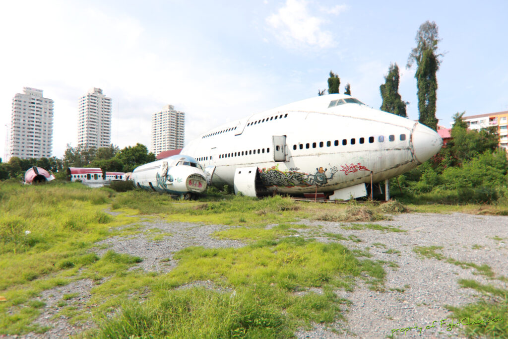Airplane Graveyard Bangkok Thailand Travel With Intent