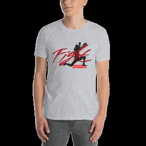 unisex basic softstyle t shirt sport grey front 60e7bbb4960d6 300x300 - Fight Man logo