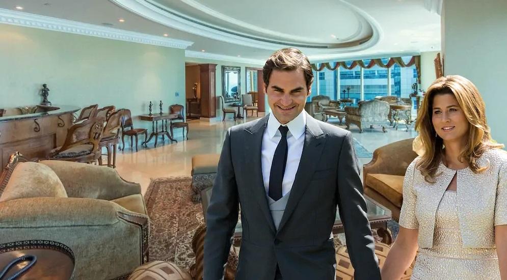 Roger Federer offseason home of Dubai