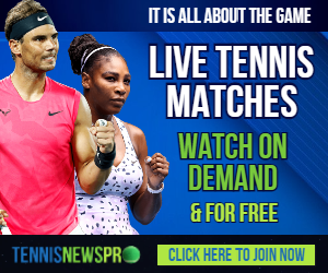 Watch Live Tennis Matches On Demand & For Free