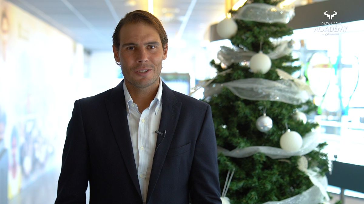 Rafael Nadal Wishes for Christmas and New Year 2021
