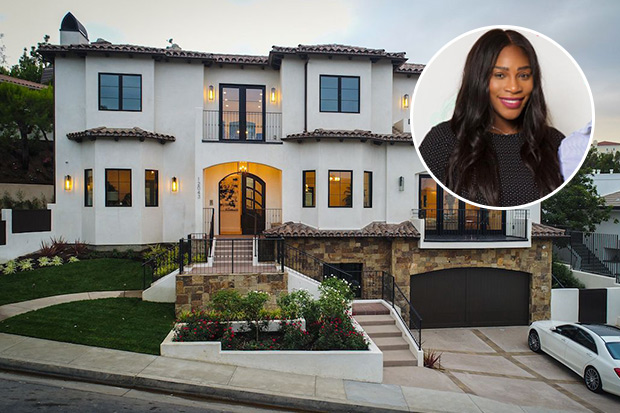 Serena Williams Beverly Hills Home