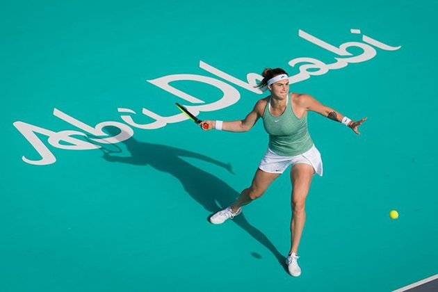 Aryna Sabalenka Sails Though in Abu Dhabi and Bags 3rd Straight Title