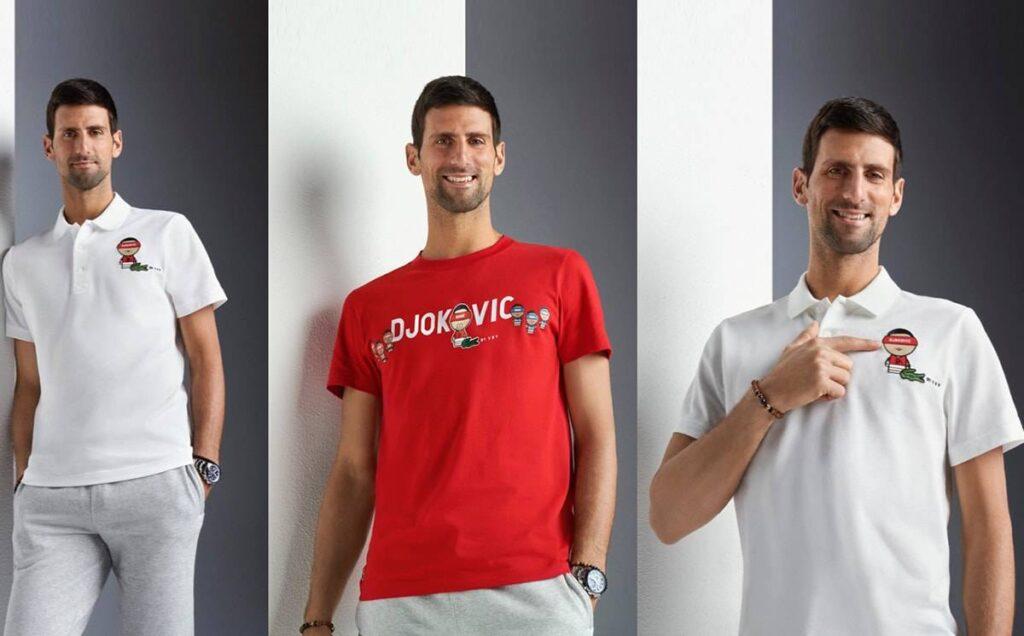 Novak Djokovic YSY 2021 Collection