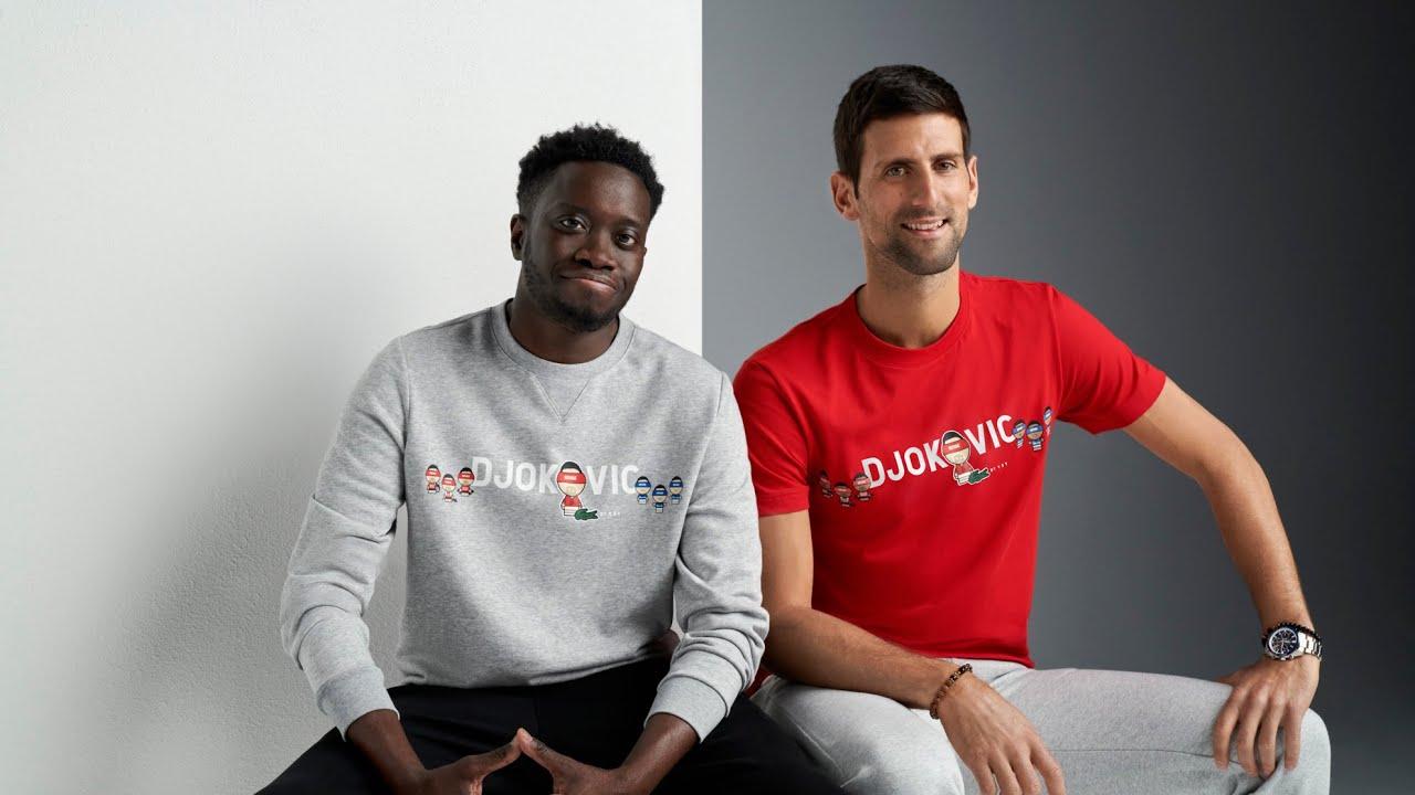 Novak Djokovic Lacoste x YSY 2021 Collection
