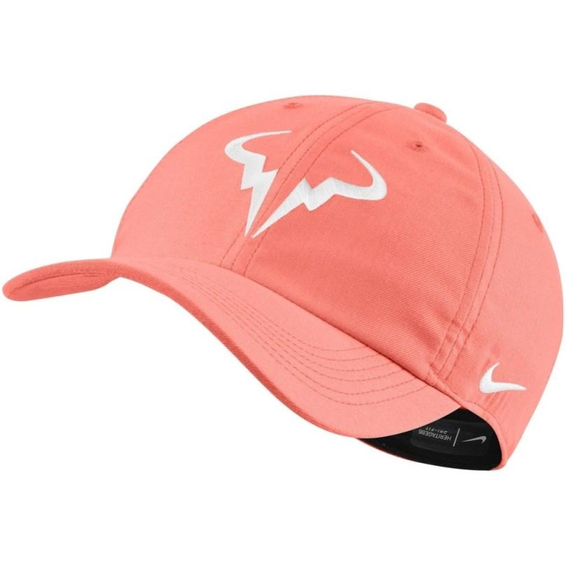 Rafael Nadal Salmon Pink Cap Australian Open 2021