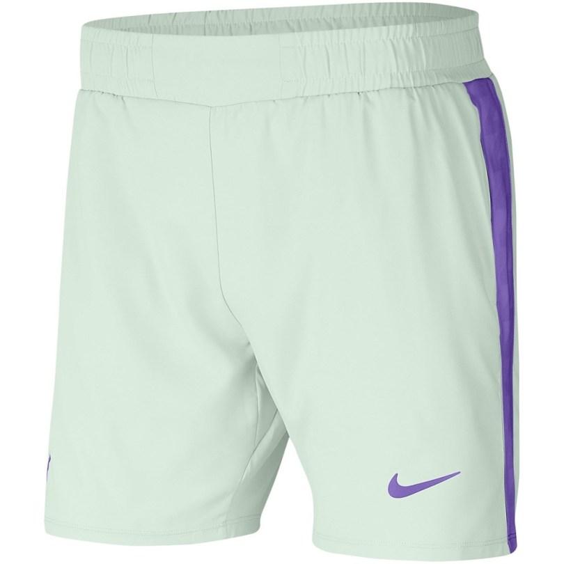Rafael Nadal White Purple Shorts Australian Open 2021