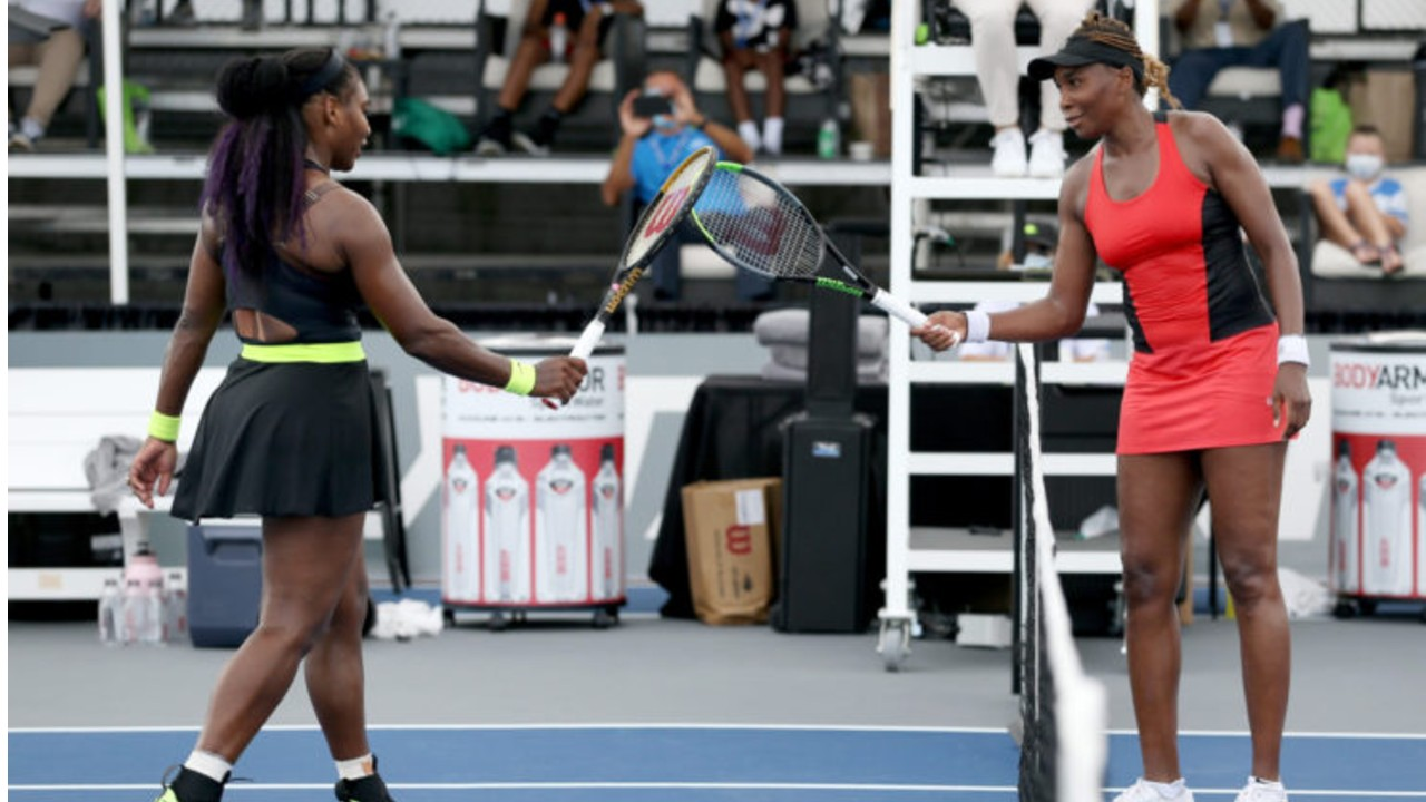Serena Williams Eyes 8th Australian Open Title While Training Hard With Sister Venus