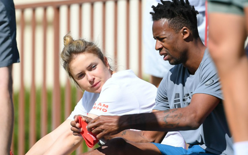 Tennis Couple Monfils and Svitolina Separated Till Early February