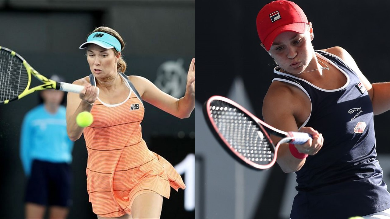 Ashleigh Barty and Danielle Collins into another tense battle