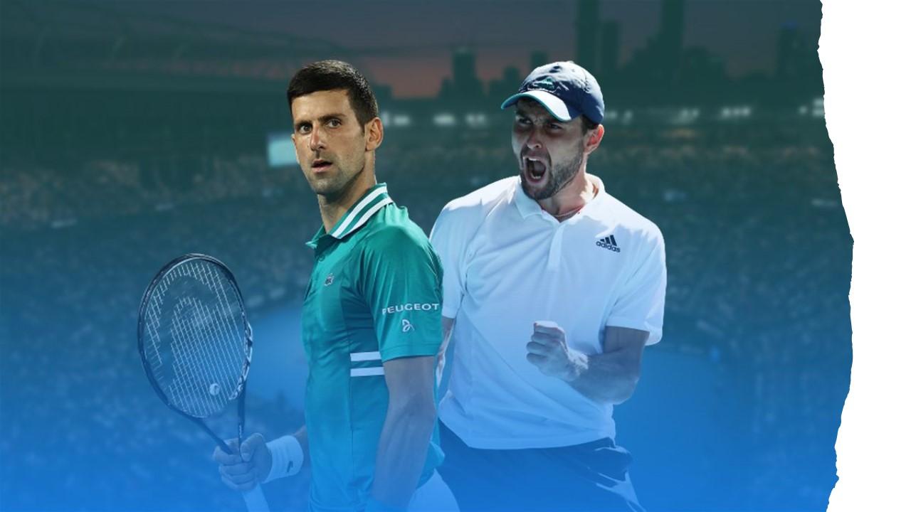 Can Aslan Karatsev dream run crush Novak Djokovic's title hopes