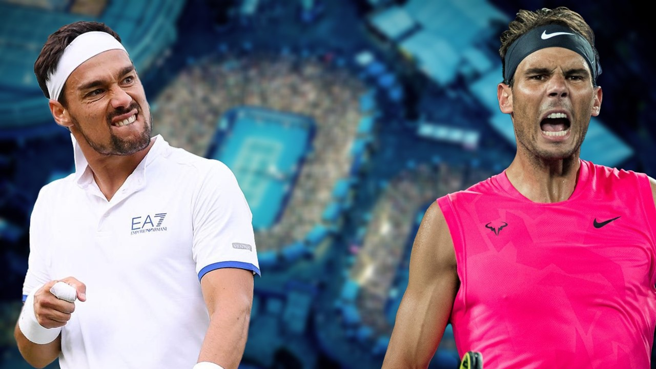 Expect fireworks as Fognini challenges Nadal