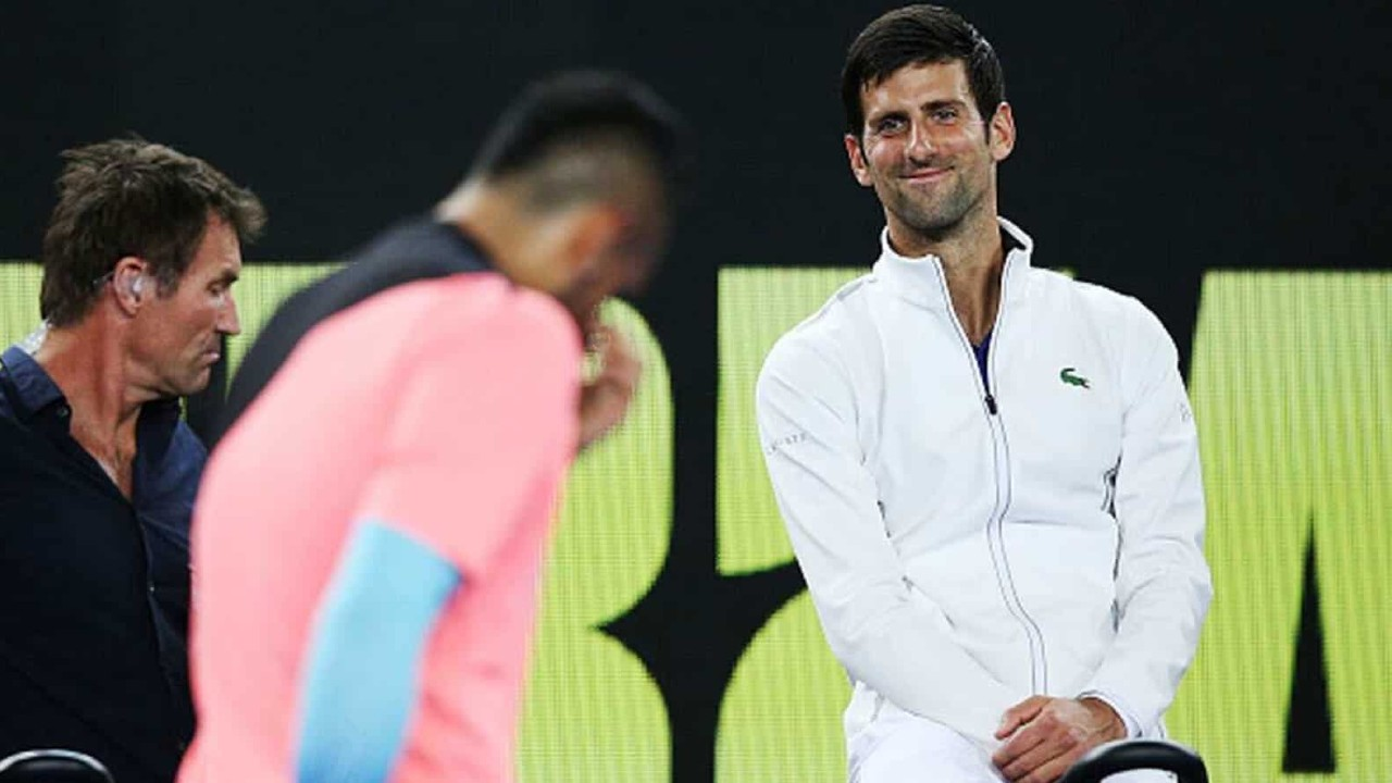 Kyrgios' response to Djokovic's criticism amid the ongoing verbal fued
