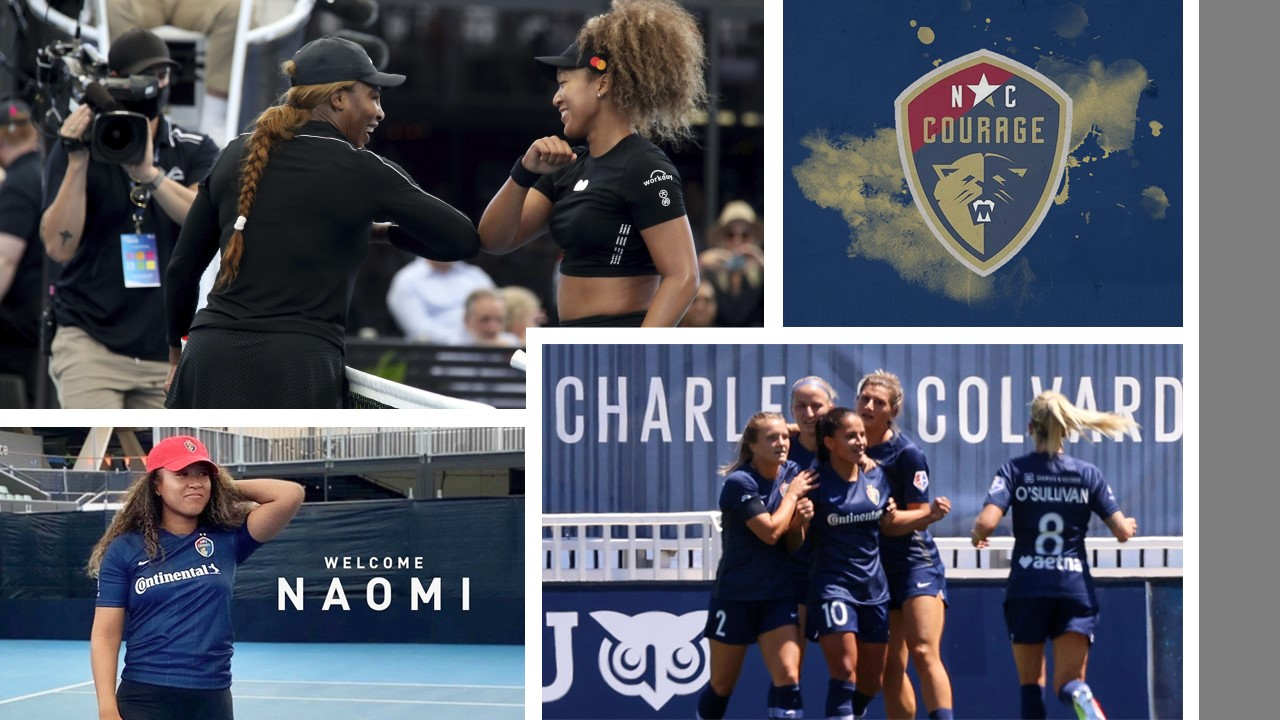 Naomi Osaka and Serena Williams are now joint owners of North Carolina Courage