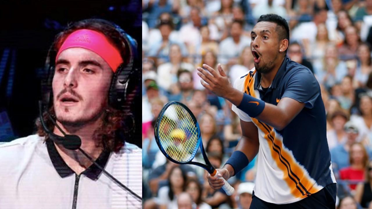 Nick Kyrgios is the black sheep of tennis according to Stefanos Tsitsipas