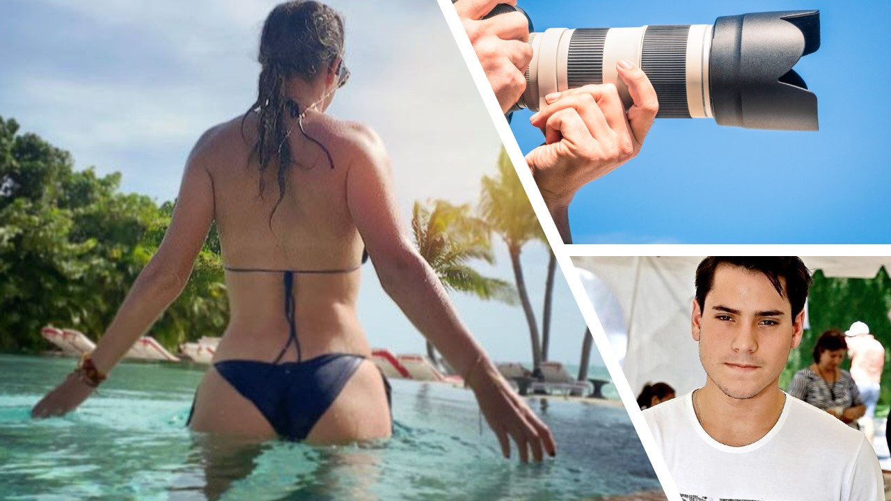 Pictures of Victoria Azarenka by the beach taken by her new boyfriend