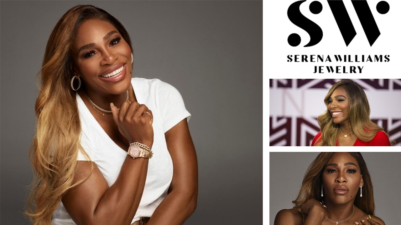 Serena Williams Unstoppable Jewellery collection in aid of Black entrepreneurs