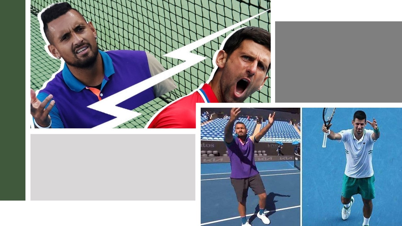 Why is Nick Kyrgios obsessed with mocking Djokovic