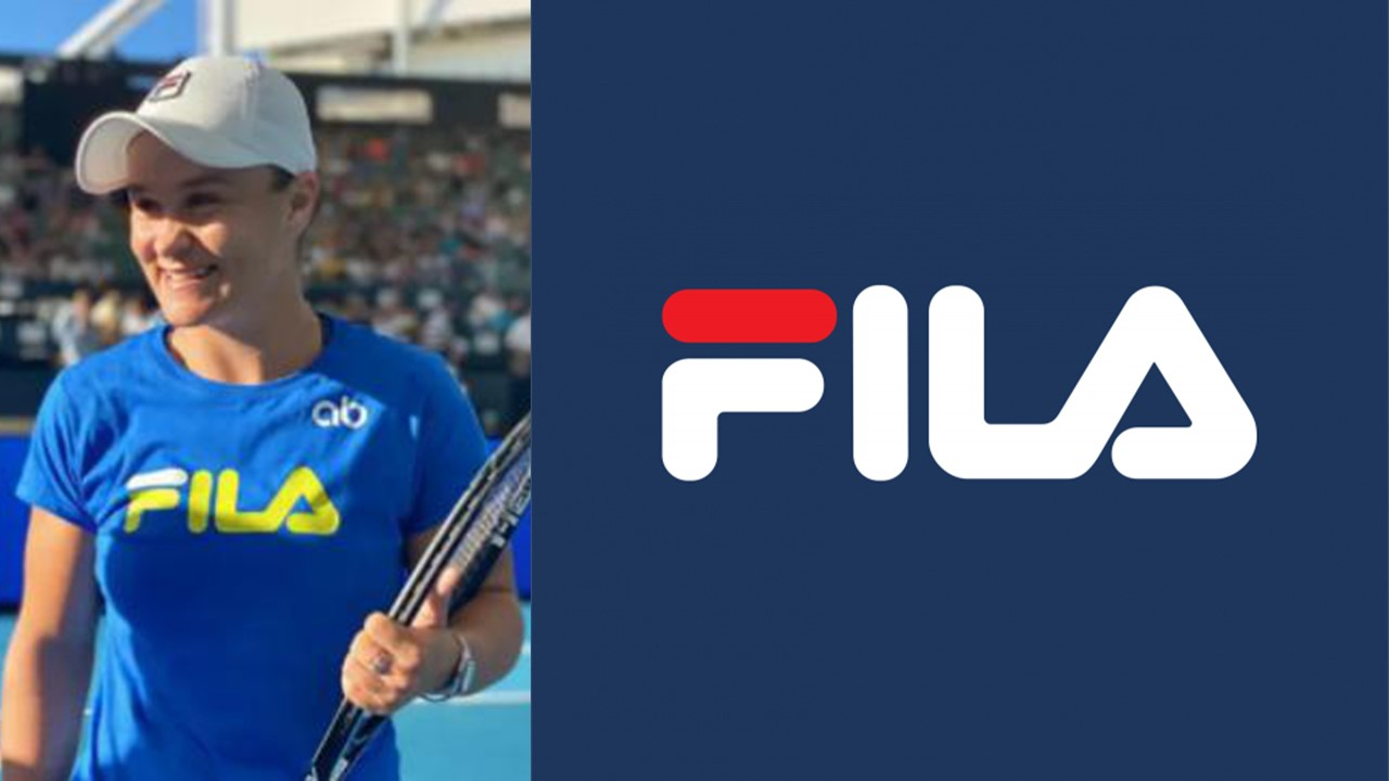 Why does the Italian brand Fila mean so much to Ashleigh Barty