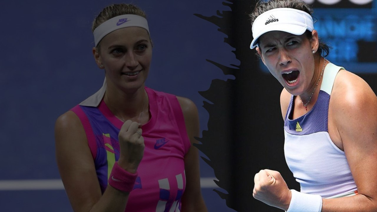 Petra Kvitova and Garbine Muguruza enter the Doha Final all Guns blazing