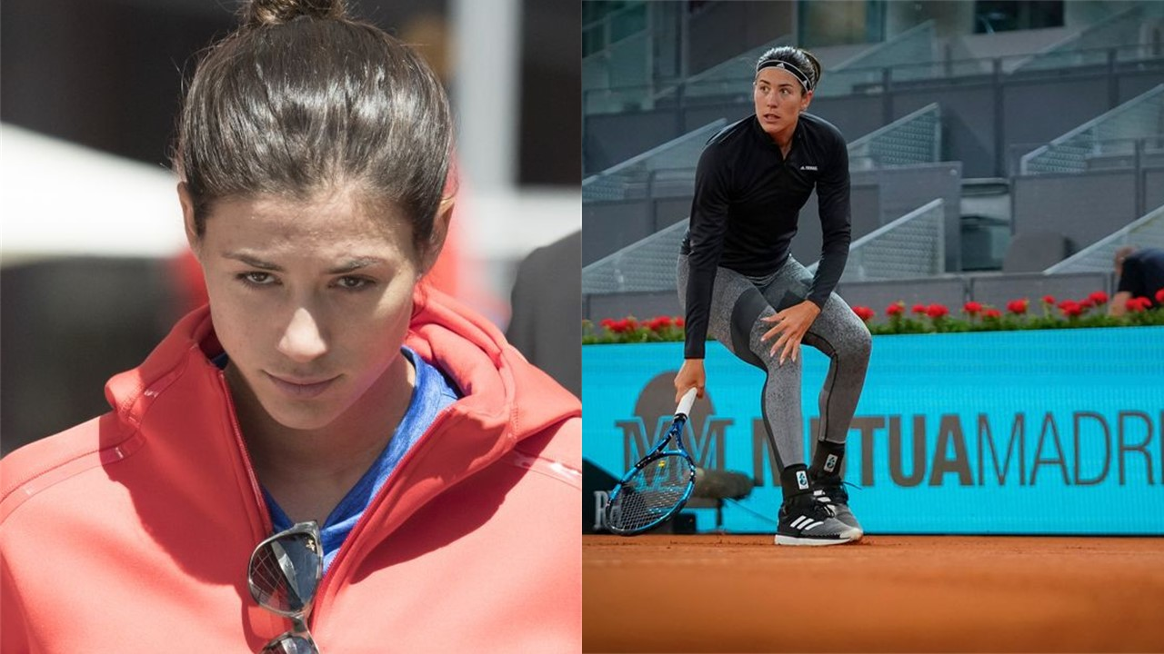 Garbiñe Muguruza Thigh Injury Haunts Her in Madrid